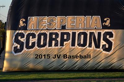 2015 JV Baseball
